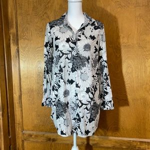 Liberty of London Floral Tunic/Cover Up - EUC